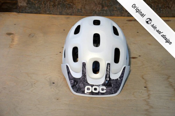 Helm POC Trabec Stickerbomb ultrablack by riesel design