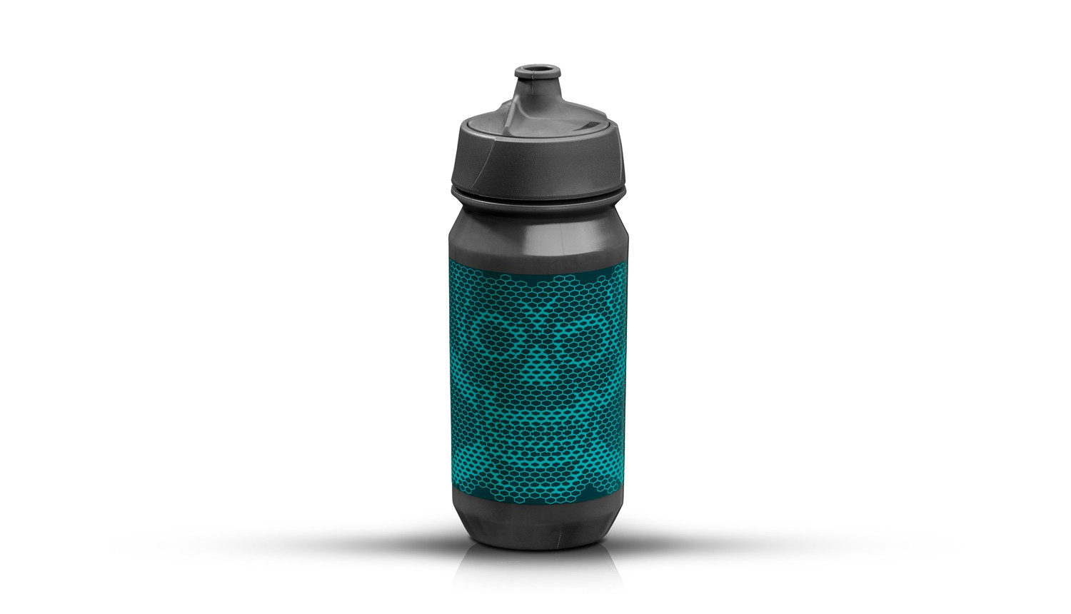 riesel-design-trinkflasche-bottle-membran-cap-scull-honeycomb-blue